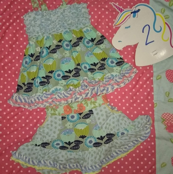Matilda Jane size 2 tunic & skort set